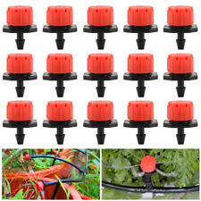 100 X Adjustable Flow Water Irrigation Drip Dripper Drippers Sprinkler System 00