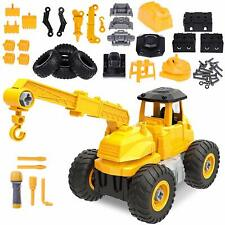 Kids Toys Construction Equipment Truck Vehicle for Boys Age 3 4 5