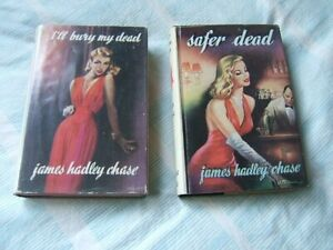 JAMES HADLEY CHASE. TWO 1st EDITIONS