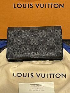 Genuine Louis Vuitton Damier Graphite Canvas Pocket Organiser NM Wallet RRP £265