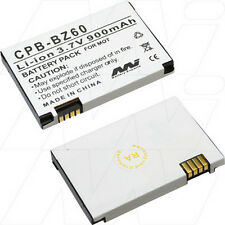 3.7V 900mAh Replacement Battery Compatible with Motorola BZ60