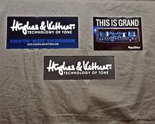 Hughes & Kettner Set of 3 Stickers......