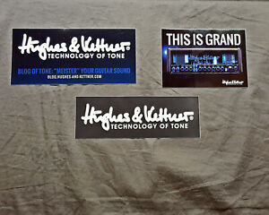 Hughes & Kettner Set of 3 Stickers......