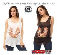 Casual Collarless Polyester Tops & Shirts Plus Size for Women