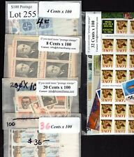 US Postage Below Face, $100 for only $69.95, FREE SHIPPING, Mint stamps Lot 255