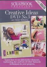 Scrapbook Creative Ideas Projects DVD No.3 with Helen Williams 46 Mins Duration