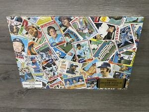 Patrick's Baseball Card Puzzle 100 Piece Factory Sealed - Topps 70s-80s