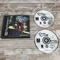 Chrono Cross PS1 Playstation 1  Black Label Without Manual. Tested And Working