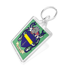 Coat of Arms (over 200,000 coats of Arms) Double Sided Keyring. Great Gift Idea!