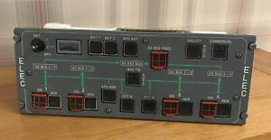 AIRBUS A320 ELECTRICAL CONTROL COCKPIT CONTROL PANEL-AVIATION-MAN CAVE