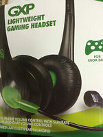Xbox 360 GXP Lightweight Game and Chat Stereo Headset NEW Boxed