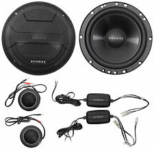 "Pair Hifonics Zs65C 6.5"" 400 Watt Component Car Audio Speakers"