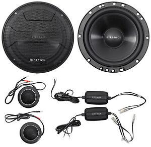 "Pair Hifonics ZS65C 6.5"" 400 Watt Component Car Audio Speakers"