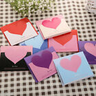 Lots 10Pcs Heart Shape Greeting Card Blessing Wish Cards Wedding Decor Ornament