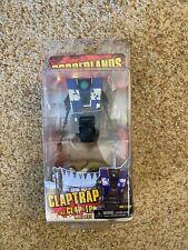 *MISB* Borderlands BLUE Claptrap CL4P-TP FIGURE NECA 2012