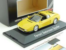 Herpa 010313 Ferrari Testarossa Spyder High Tech Coll. 1:43 OVP SG 1604-30-16