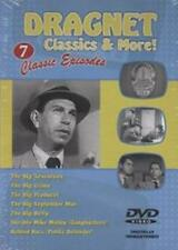 Dragnet (Digitally Remastered DVD) Seven Fill-Length Episodes! **NEW**