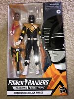Power Rangers Lightning Collection Dragon Shield Black Ranger (Exclusive) new