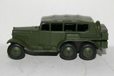 1940's Dinky #152b Reconnaissance 6 Wheel Military Car, Nice Original