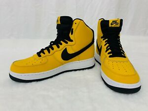 Nike Air Force 1 High '07 'Yellow Ochre' Shoes Size 10.5