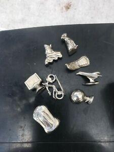 MONOPOLY MILLENIUM 2000 Game Replacement Parts Movers/men/tokens/pieces NO tin