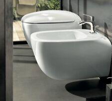 Sanitari bagno vaso sedile soft close e bidet sospesi Citterio Pozzi Ginori