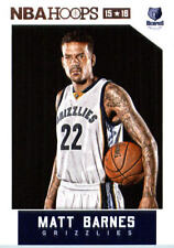 2015-16 Panini NBA Hoops #184 Matt Barnes Memphis Grizzlies NM Trading Card