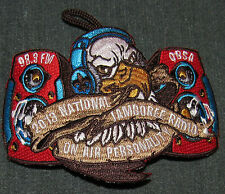 2013 National Boy Scout Jamboree Radio QBSA On Air Personality Staff Patch MINT!
