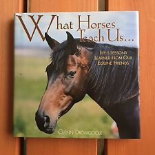 What Horses Teach Us by Glenn Dromgoole (2002, Hardcover)
