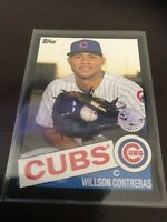 Topps Series One 2020 Wilson Contreas Black Border Base Cubs SP /299 84 Style