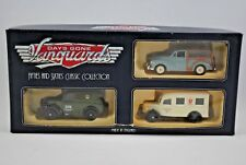 LLEDO 3 x DAYS GONE BEDFORD + MORRIS Z Van & MINOR TRAVELLER Car Gift-Set MIB