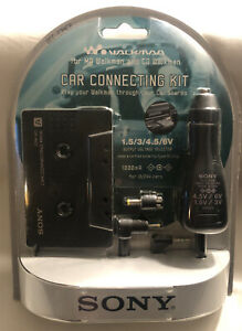 NEW! SEALED! Sony DCC-E34CP Walkman MD and CD Car Connecting Kit.