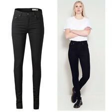 Womens High Waisted Super Skinny Jeans Ladies High Waist Sizes 6 8 10 14 BNWT