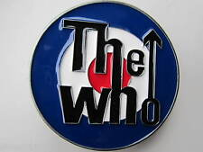 Who belt buckle the who.