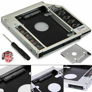 Hard Disk SATA Drive 9.5mm Caddy Aptedar HDD to SATA Bay Laptop CD DVD-ROM UK