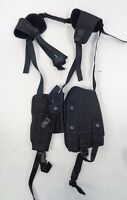Ex Police Covert Concealed Baton, Cuffs, CS & Radio Harness Holster L6 CH7