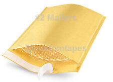 "#2 Kraft Ecolite Bubble Mailer Envelopes 8.5"" x 12"" - Made in USA - 100 ea"
