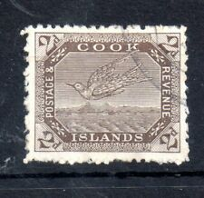 Cook Islands 1902-18 2d brown Perf 15 & 14 good used SG#44 WS13418