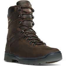 "13 D Danner men's IRONSOFT 8"" Waterproof Brown Leather Work Hunting Boots -"
