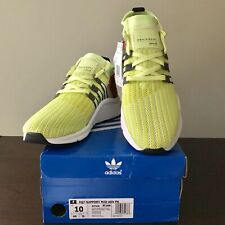 adidas Men's EQT Support MID ADV B37436 in Neon / Core Black / Turbo Red Size 10