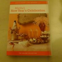 2005 Martha's New Year's Celebration DVD Stewart Holiday Collection Recipes