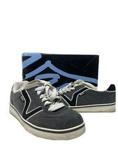 Van's Audie Gargoyle Black White Grey Low Top Sneakers Women's Size 7 With Box!