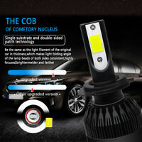 For Chrysler Grand Voyager V 2007-2016 Low Dipped Beam H7 Xenon Headlight Bulbs