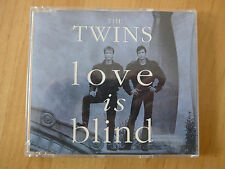 THE TWINS --- LOVE IS BLIND --- MAXI CD