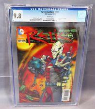 GREEN LANTERN #23.1 (3-D Lenticular Cover, Relic #1) CGC 9.8 DC Comics 2013