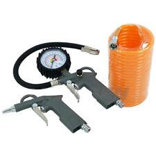 Compresor de aire Herramientas de herramienta de línea de manguera de retroceso Neumático Inflador Plumero pistola 3 Pieza
