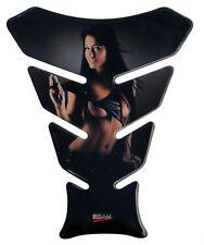 Tankpad 3D Woman in Black 501211 passend für BMW Suzuki Kawasaki Yamaha Ducati