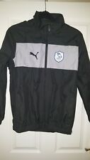 Mens Football Jacket - Sheffield Wednesday - Training - Puma - Black & Grey - S
