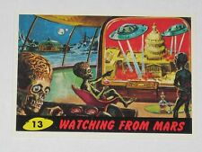 Topps Mars Attacks Trading Card 1994 Base Card Nm #13 Watching From Mars