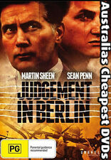 Judgement In Berlin DVD NEW, FREE POST WITHIN AUSTRALIA REGION ALL